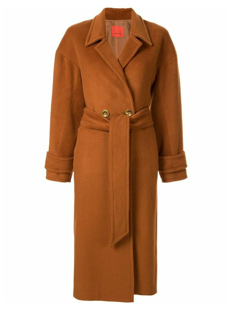 Manning Cartell Signature Moves coat - Brown