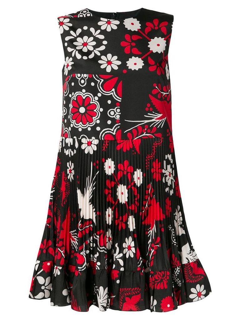 Red Valentino Terrace print skater dress - Black