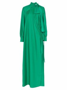 Rosie Assoulin wrap maxi dress - Green
