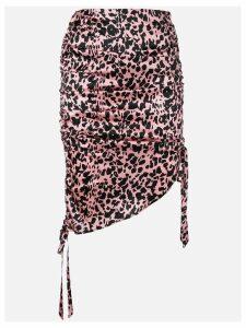 Laneus leopard print skirt - Pink