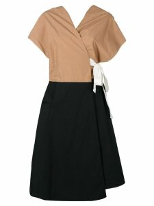 Tela Frolla wrap dress - Black