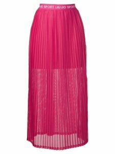 Liu Jo logo waistband skirt - Pink