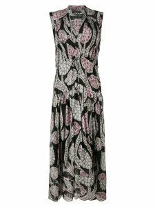 Isabel Marant printed maxi dress - Black