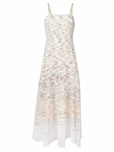 Missoni fitted sleeveless dress - Neutrals