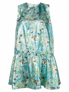 Stella McCartney Campbell lurex dress - Green
