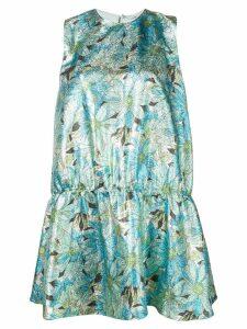 Stella McCartney Campbell lurex dress - Green