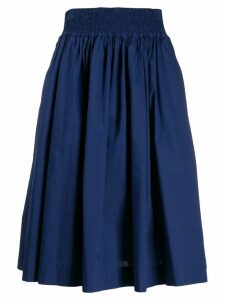 Woolrich elasticated waist skirt - Blue