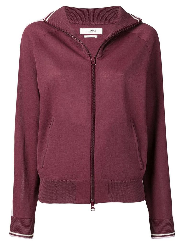 Isabel Marant Étoile Darcey zipped cardigan - Red