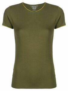 Majestic Filatures plain fitted T-shirt - Green