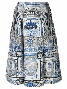 Mary Katrantzou Talona skirt - White