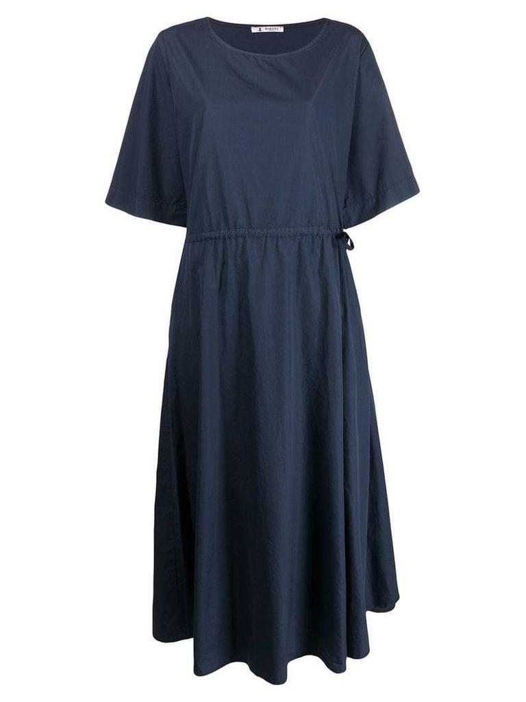 Barena short-sleeve flared dress - Black
