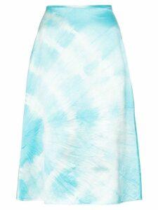 Ashley Williams tie-dye skirt - Blue