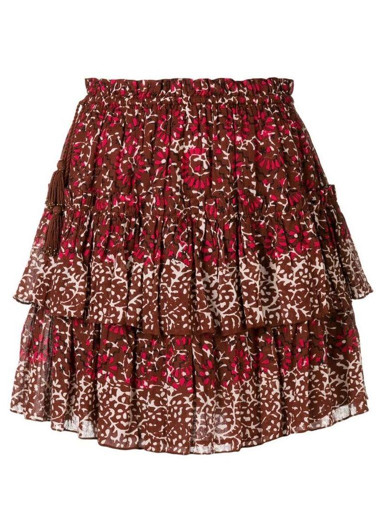 Ulla Johnson Asha skirt - Red