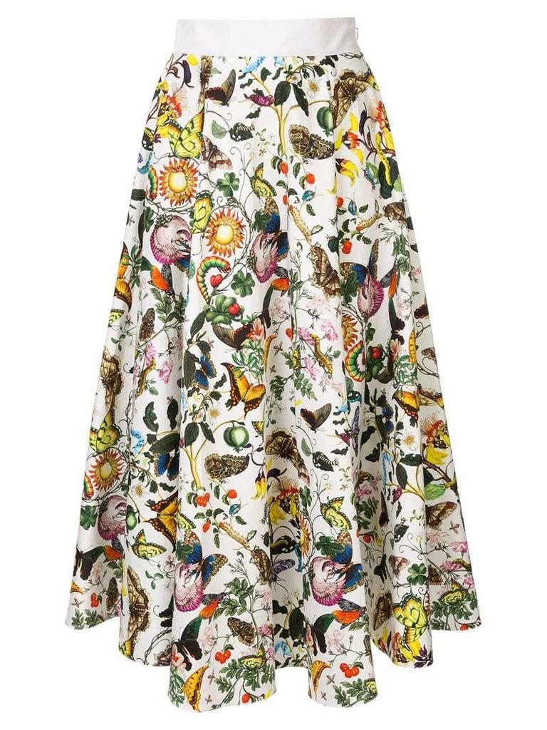 Mary Katrantzou Alice skirt - White