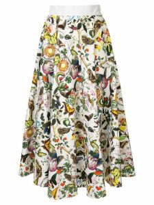 Mary Katrantzou Alice skirt - White