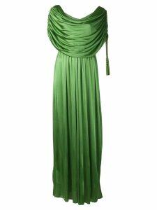 Lanvin Long draped dress - Green