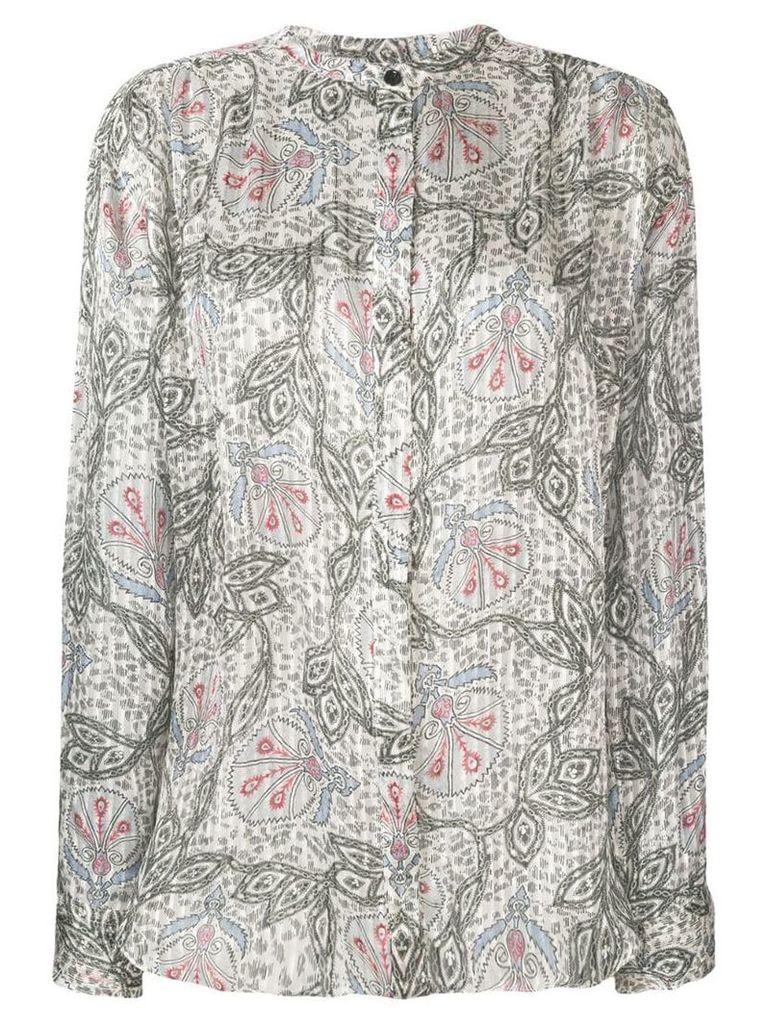 Isabel Marant pleated shirt - Neutrals