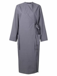 Sofie D'hoore apron-styled midi dress - Grey