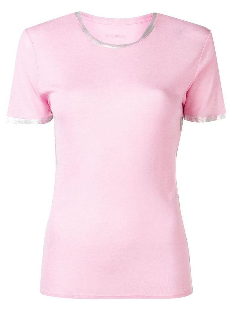 Zadig & Voltaire classic T-shirt - Pink