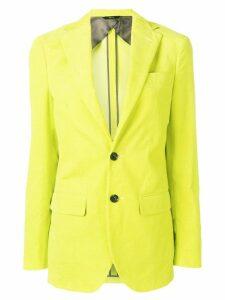 R13 corduroy blazer - Yellow