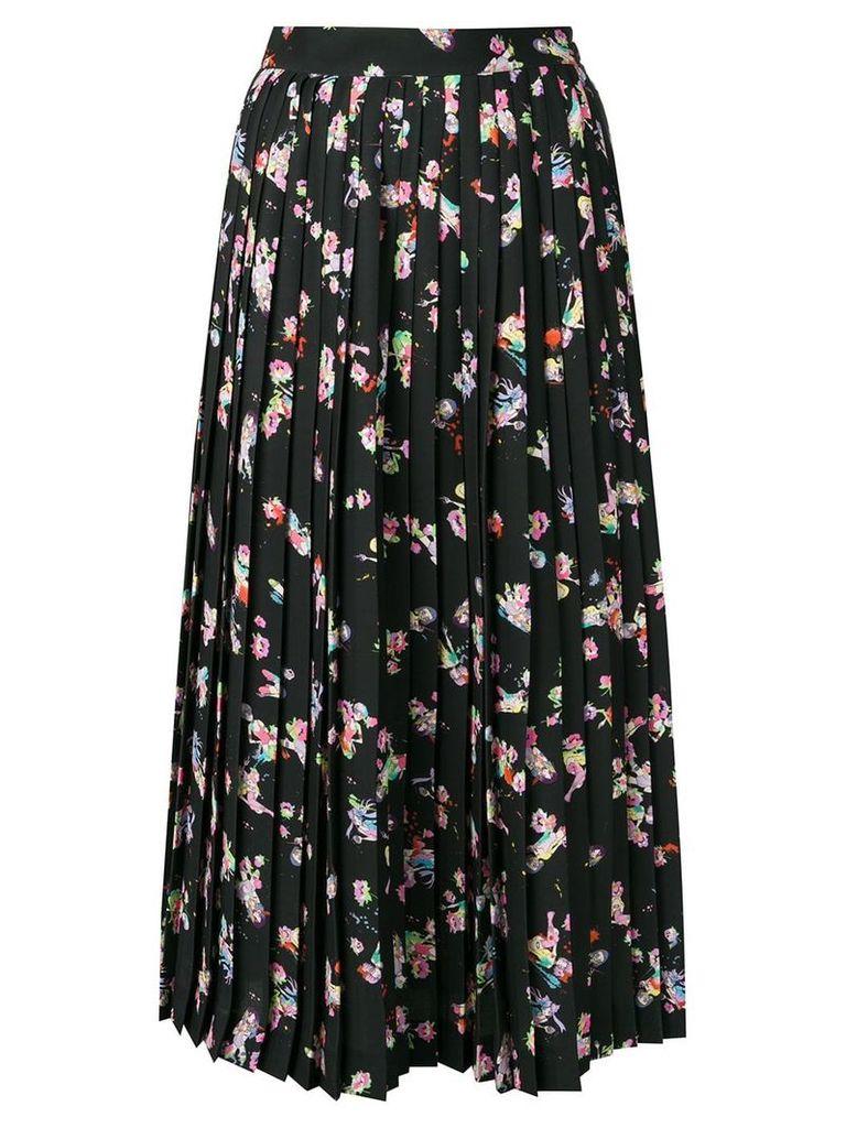 Maison Margiela high-waist pleated skirt - Black