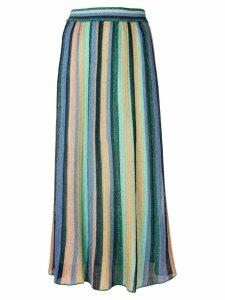 M Missoni striped midi skirt - Blue