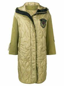 Ermanno Scervino quilted parka coat - Green