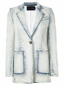 Proenza Schouler longline blazer - Blue
