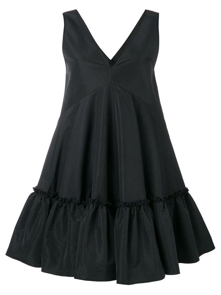 Nº21 ruffled hem dress - Black