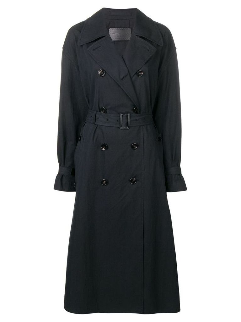 Bottega Veneta classic trench coat - Black