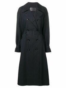 Bottega Veneta classic trench coat - Black