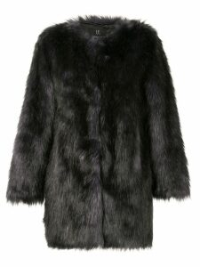 Unreal Fur faux fur Midnight Coat - Black