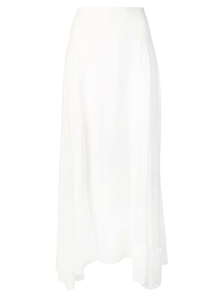 3.1 Phillip Lim layered skirt - White