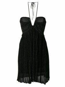 Isabel Marant pleated cocktail dress - Black