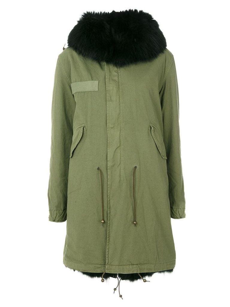 Mr & Mrs Italy classic parka coat - Green