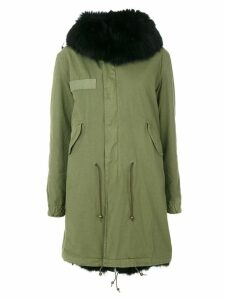 Mr & Mrs Italy classic parka coat - Green