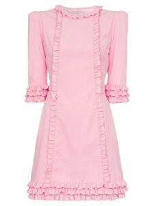 The Vampire's Wife Kate corduroy mini dress - Pink