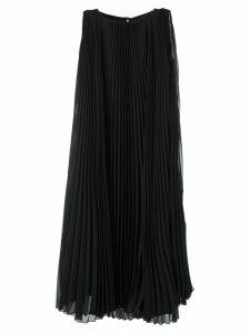 Max Mara Clelia pleated dress - Black