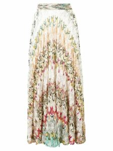 Missoni patterned crochet skirt - Neutrals