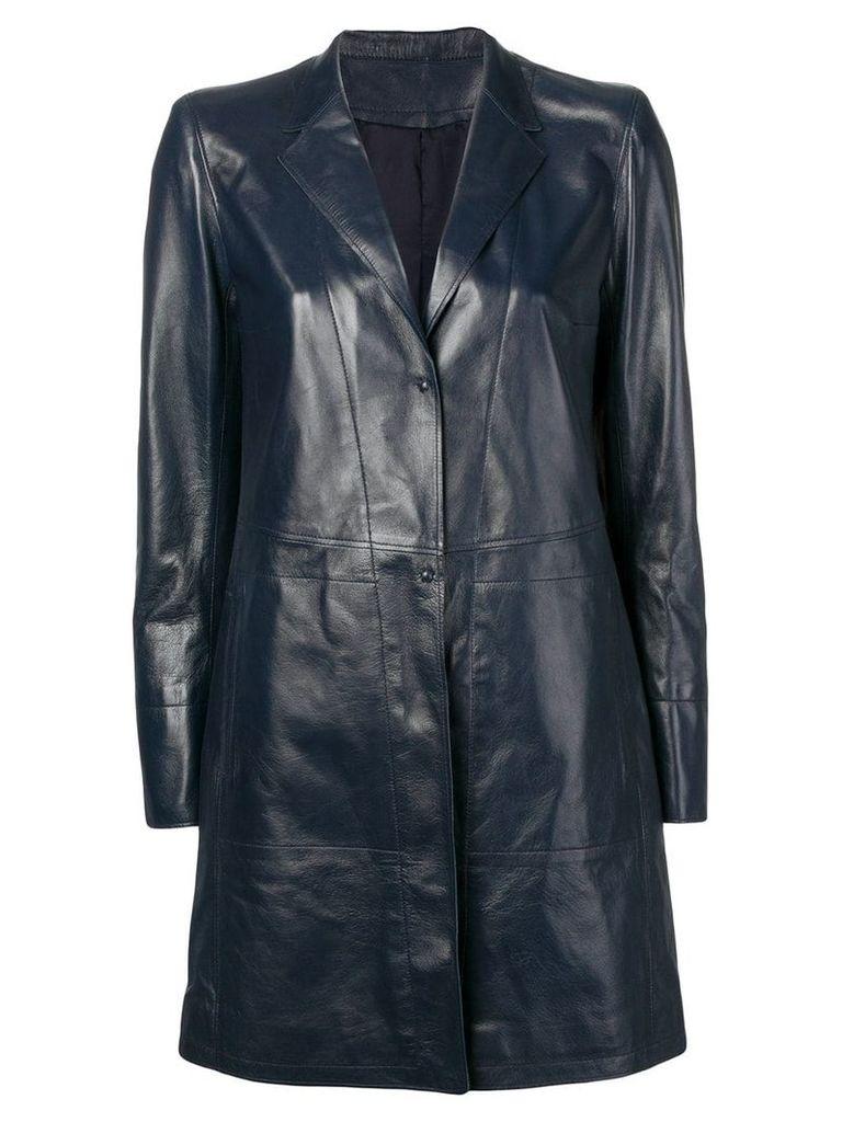 Sylvie Schimmel single-breasted coat - Blue