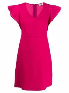Liu Jo ruffle sleeve mini dress - Pink