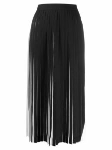 Maison Margiela pleated midi skirt - White