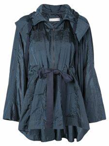 Palmer / Harding belted raincoat - Blue
