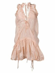 Dsquared2 short ruched dress - Pink