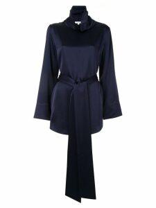 Layeur funnel neck blouse - Blue