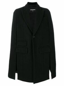 Dsquared2 cape coat - Black