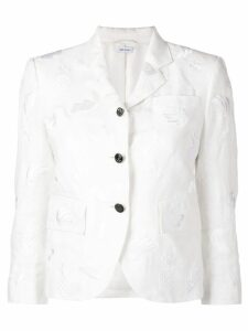 Thom Browne Fruit Embroidery Linen Sport Sport - White