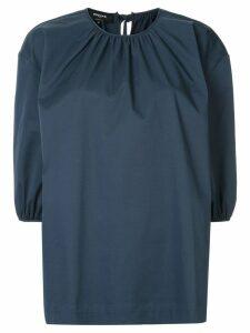 Rochas puff blouse - Blue