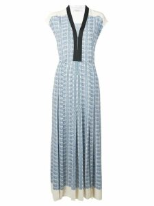 Philosophy Di Lorenzo Serafini paisley print long dress - Neutrals