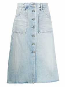 Citizens Of Humanity faded skirt - Blue